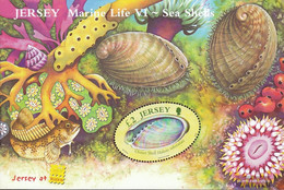 United Kingdom - Jersey Block55I (complete Issue) Unmounted Mint / Never Hinged 2006 Insects - Jersey