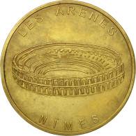 France, Jeton, Jeton Touristique, Nimes - Les Arènes N°1, 1996, MDP, TB+ - Other