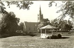 """CP De OAKHAM """" Bandstand & Church """" - Rutland"""