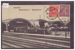 DÜSSELDORF - HAUPTBAHNHOF - BAHN - TRAIN - TB - Duesseldorf