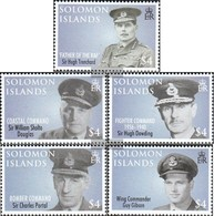 Salomoninseln 1360-1364 (complete Issue) Unmounted Mint / Never Hinged 2008 Royal Air Force - Islas Salomón (1978-...)