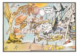 Illustrateurs - IIlustrateur Sylmer - Enghien Les Bains - Aviation - Aérostation - Avions - Künstlerkarten