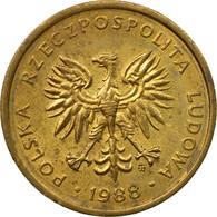 Monnaie, Pologne, 2 Zlote, 1988, Warsaw, TB+, Laiton, KM:80.2 - Poland