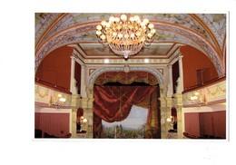 Cpm - 34 - Pezenas - Le Petit Théâtre - Intérieur Salle Spectacle Lustre - Restauré Inauguré 2012 - Pezenas