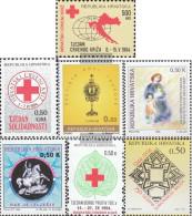 Croatia Z33,Z34,Z35,Z36, Z37,Z38,Z39 (complete.issue.) Unmounted Mint / Never Hinged 1994 Zwangzuschlagsmarken - Croatia