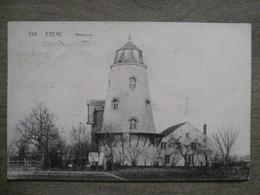 Rare Cpa Evere Bruxelles - Meunerie Meunier (usine De Grains Blé Farine) - 1913 Cachet Fortune étoile Ernage - Evere