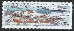 "TAAF YT 441 "" Base Dumont D'Urville "" 2006 Neuf** - Booklets"