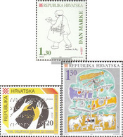 Croatia 332,352,353 (complete Issue) Unmounted Mint / Never Hinged 1995 Special Stamps - Croatia
