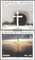 Croatia 321-322 (complete Issue) Unmounted Mint / Never Hinged 1995 Bleiburger Tragedy - Croatia