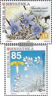 Croatia 205-206 (complete Issue) Unmounted Mint / Never Hinged 1992 Locals Plants - Croatia