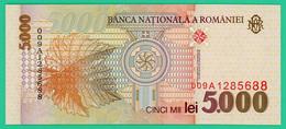 5000 Lei - Roumanie - 1998 - N° 009A1285688 -  Neuf - - Roumanie