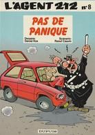 AGENT 212 - PAS DE PANIQUE - Edition Originale Belge 1987 N° 8 - Agent 212, L'