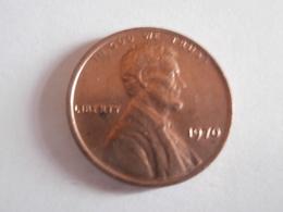One Cent ETATS UNIS 1970 - 1959-…: Lincoln, Memorial Reverse