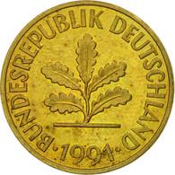 Monnaie, République Fédérale Allemande, 10 Pfennig, 1991, Karlsruhe, TTB - [ 7] 1949-… : FRG - Fed. Rep. Germany