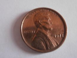 One Cent ETATS UNIS 1972 - 1959-…: Lincoln, Memorial Reverse