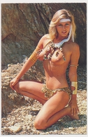 Erotic Sexy  Naked Topless Woman Girl Beach - Vintage Old Pocket Calendar - Kalender