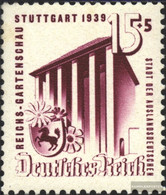 German Empire 693 With Hinge 1939 Garden Show - Germany