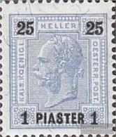 Austria.-Post Levante 34B Fine Used / Cancelled 1900 Print Edition - Levante-Marken
