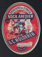 Etiquette Biere Bock Aredien G C Scholderer Brasserie De St Yrieix Haute Vienne Expo Universelle Paris 1931 Bruxelles 19 - Beer