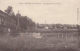 Baulay.  Vue Générale Et Le Pont - France