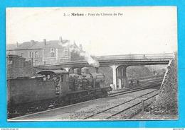 08-Charleville Mézieres Mohon-Pont Du Chemin De Fer-cpa écrite - Charleville