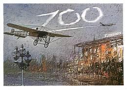 Illustrateurs - IIlustrateur Y. Couedel - Enghien Les Bains - Aviation - Avions - Autographe - Signature - 100 Ans - Other Illustrators