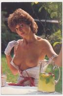 Erotic Sexy  Naked Topless Woman Girl In Garden - Vintage Old Pocket Calendar - Kalender