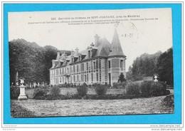 08-Charleville-Fagnon-Dérriére Du Château De Sept Fontaine-cpa  écrite - Charleville