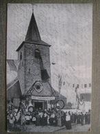 Cpa Ernage (Gembloux) - Souvenir Monseigneur Heylen Mai 1913 - Sortie De Messe - Cachet étoile Fortune 1923 - Gembloux