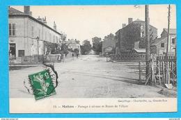 08-Mohon-Passage à Niveau Et Route De Villers-cpa écrite 1912 - Charleville