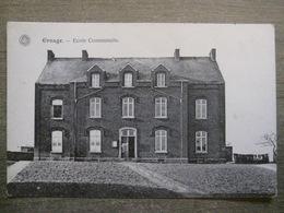 Cpa Ernage (Gembloux Namur) - Ecole Communale - G. Hermans Anvers - Gembloux