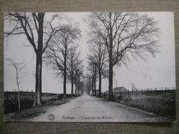 Cpa Ernage (Gembloux Namur) - Chaussée De Wavre - G. Hermans Anvers - Gembloux