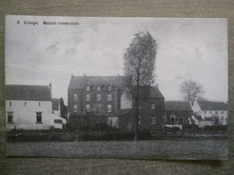 Cpa Ernage (Gembloux Namur) - Maison Communale - 1909? - Gembloux