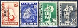 +Iceland 1940. Rare Set Signed (by Møller DFP). (Michel 218-21). Cancelled - Usados