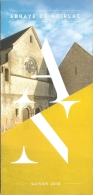 Dépliant-Programme - Abbaye De Noirlac Saison 2018 - [19 - Bruère-Allichamps) - Programs