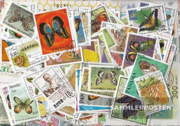 Motives 200 Different Stamps  Butterflies And Insects In Complete Expenditure - Stamps