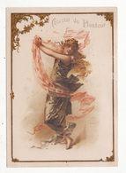 Chromo  CHOCOLAT DU PLANTEUR   Femme Et Ruban    Grand Format   15 X 11 Cm - Chocolat
