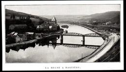 1911  --  BELGIQUE   DIEST : LA MEUSE A HASTIERE   3P835 - Old Paper