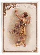 Chromo  CHOCOLAT DU PLANTEUR   Femme Et étoiles    Grand Format   15 X 11 Cm - Other
