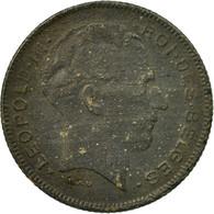 Monnaie, Belgique, 5 Francs, 5 Frank, 1943, TB, Zinc, KM:129.1 - 1934-1945: Leopold III