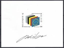 Projet Non Adopté NA 10.FR. émission Union Européenne - Belgique