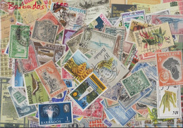 Barbados Stamps-300 Different Stamps - Barbados (1966-...)