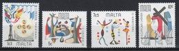 Malta Complete Set Of Stamps To Celebrate Maltese Folklore 1976. - Malta