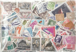 Monaco 800 Different Stamps - Collections, Lots & Series