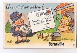 Barneville - Carte à Système Avec Ses 10 Petites Vues - Autres Communes