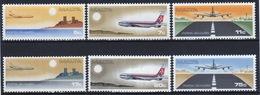 Malta Complete Set Of Stamps To Celebrate Air 1978. - Malta