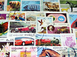 Afghanistan 500 Different Stamps - Afghanistan