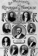 LES PRESIDENTS DE LA REPUBLIQUE FRANCAISE (En 1913) - Personnages