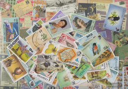 Lesotho Stamps-400 Different Stamps - Lesotho (1966-...)
