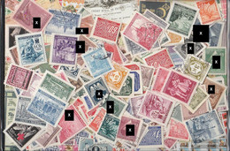 Bohemia And Moravia 181 Different Stamps Fine Used / Cancelled Completely (all 142 Hauptnummer, 24 Service Marks UN - Unclassified